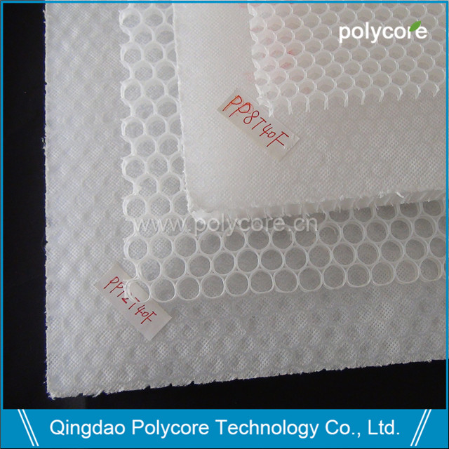 PP honeycomb core and PP honeycomb sheet